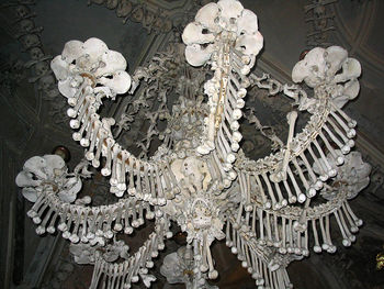 Sedlec ossuary the church of bones the paranormal guide the bone chandelier aloadofball